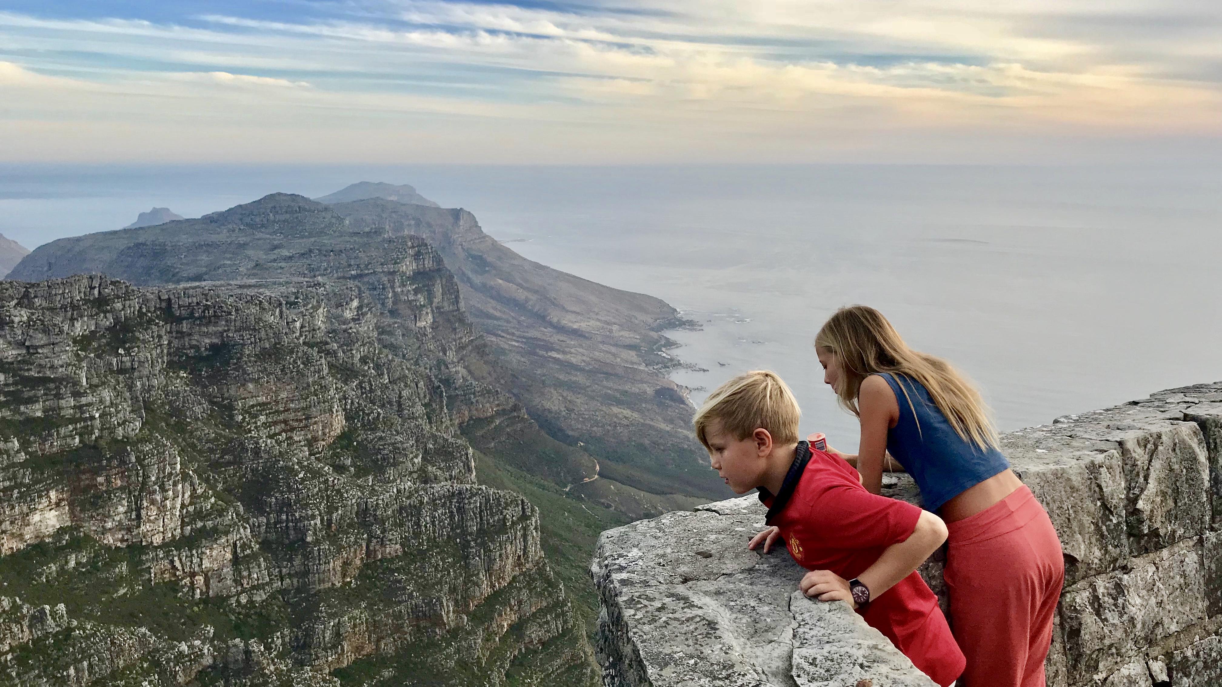 Utsikt mot Kapp det gode håp fra Table Mountain.